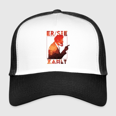 Beer party saying gift bill celebration alcohol - Trucker Cap