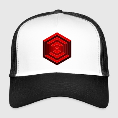 Hexagon Cube - Trucker Cap