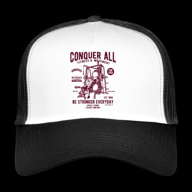 Conquer All - Trucker Cap