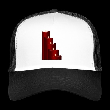 Advent candles - Trucker Cap