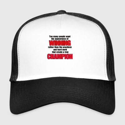 TRUE CHAMPION - Trucker Cap