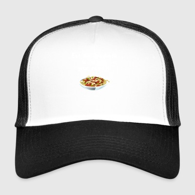 Eat the spaghetti to forget your regretti - Trucker Cap