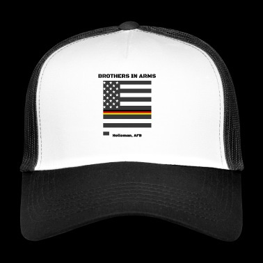 Brothers in Arms German Air Force in New Mexico - Trucker Cap