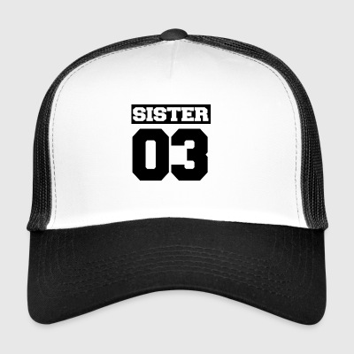 Sister shirt for siblings - Trucker Cap