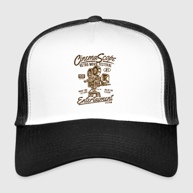 Cinema Scope2 storskjerm julegave - Trucker Cap