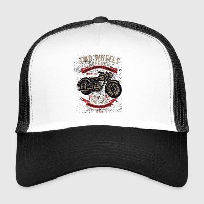 Motorcycle Chopper Biker Highway Motor Kerstmis - Trucker Cap