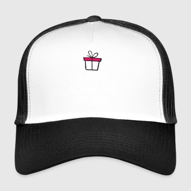 Födelsedagskjorta - Happy Birthday To Me - Trucker Cap