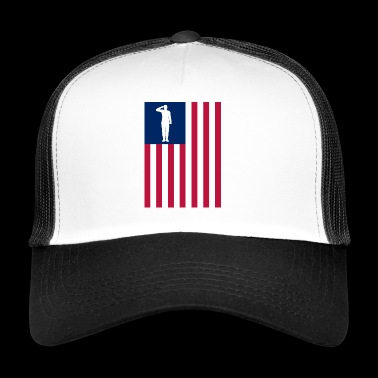 Amérique du Patriot - Trucker Cap