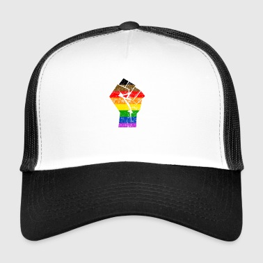 Colormore Pride Rainbow Flag LGBT Philly - Trucker Cap