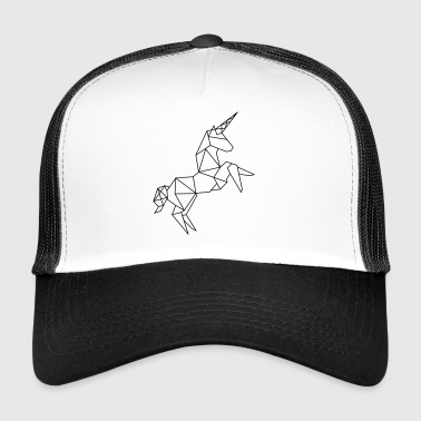 Unicorn grafikk - Trucker Cap
