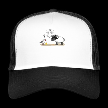 I am your father | Father's Day | Seagull | Sheep | comic - Trucker Cap