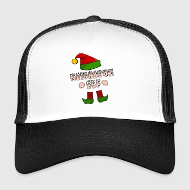 Neighbor, neighbor, village kid, Christmas gift - Trucker Cap