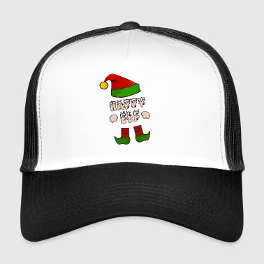 Lycklig Elf - Happy Elf - Gift Xmas - Trucker Cap