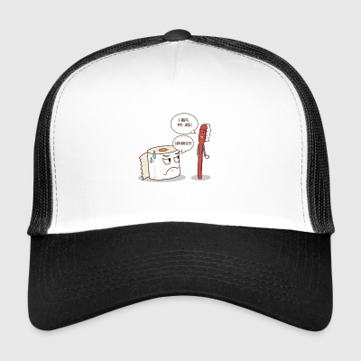I Hate My Job Seriously? I hate my job - Trucker Cap