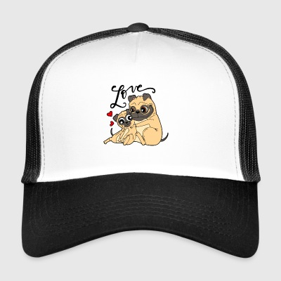 Dog love - Trucker Cap