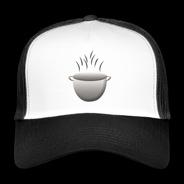 soup stew soup bowl noodle cooking food3 - Trucker Cap