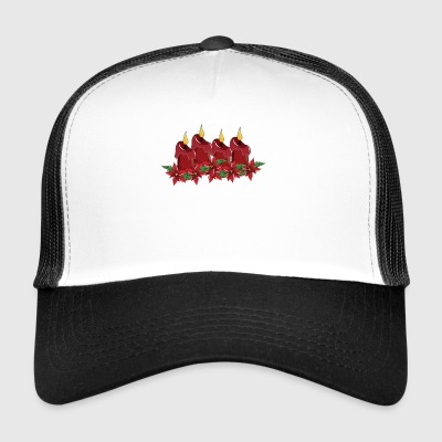 Derde Sunday Of Advent Christmas Season Candles - Trucker Cap