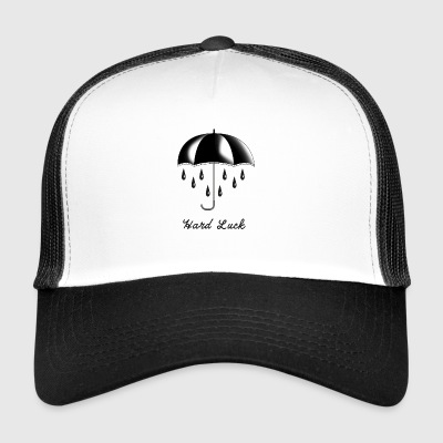Tattoo Screen Lahja T-paita Hard Luck - Trucker Cap