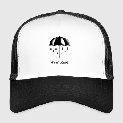 Tattoo Umbrella Gift T-Shirt Hard Luck - Trucker Cap