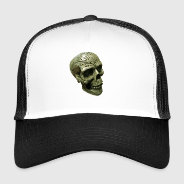 Mystic death's head engraved - Trucker Cap
