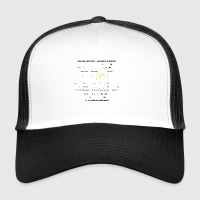 Science Don't Trust An Atom They Make Up Things - Trucker Cap