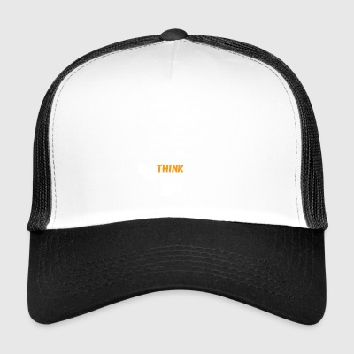 I'M TRYING TO THINK - Trucker Cap