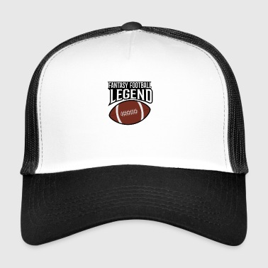 LÉGENDE DE FOOTBALL FANTAISIE - Trucker Cap