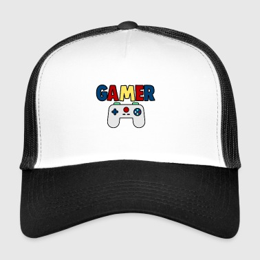 console gamer - Trucker Cap