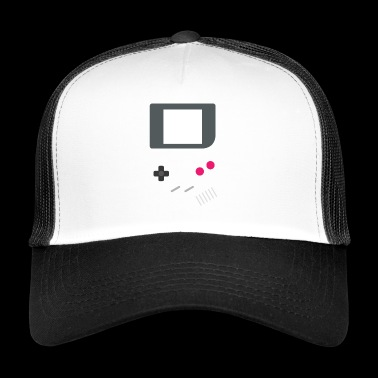 GAMING GAMER ZOCKER BUTTONS & DISPLAY RETRO MOTIV - Trucker Cap