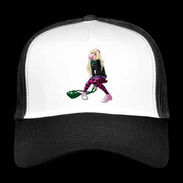 manga girl - Trucker Cap