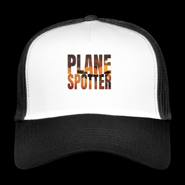 Plane Spotter Photo Design Jet Jet Fighter - Trucker Cap