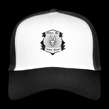 follow the white rabbit - Trucker Cap