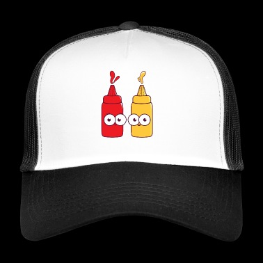 We Go Together Like Ketchup and Mustard Food Gift - Trucker Cap