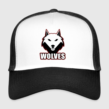 Wolves are the better dogs - Trucker Cap