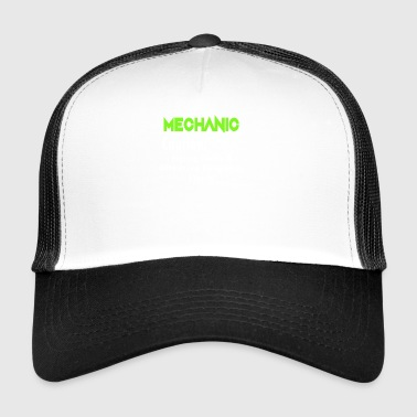 Mécanicien Attention Flying Tools Gift - Trucker Cap