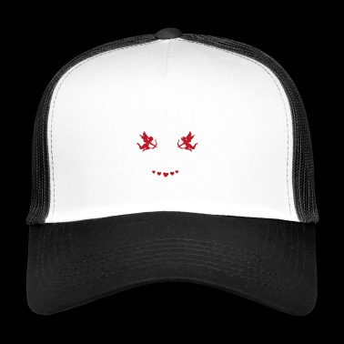 Cupido is dom, Vrolijk Shirt Gift - Trucker Cap