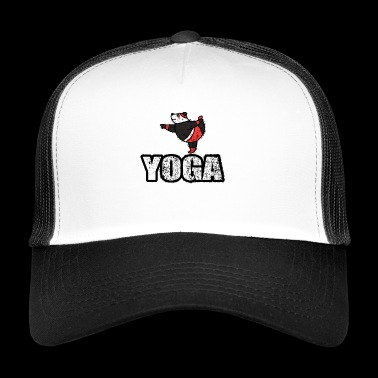 Dancing Jooga Bear vuosikerta retro New Age - Trucker Cap