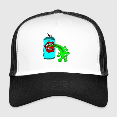 De puking spray graffiti forfattere - Trucker Cap
