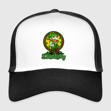 St Patrick's Day Ireland holiday gift surprise - Trucker Cap