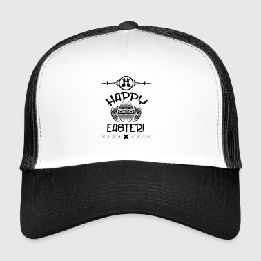 Gift easter party kids easter easter bunny bunny egg - Trucker Cap