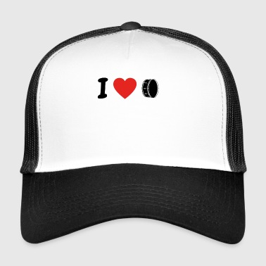 I love drum drum dr png - Trucker Cap