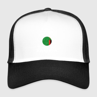 beauty comes from ZAMBIA png - Trucker Cap