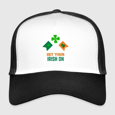 Word uw Iers St Patrick's Day Clothing - Trucker Cap