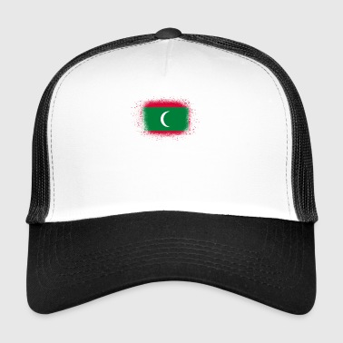 Spray logo klaue flagge home Malediven png - Trucker Cap