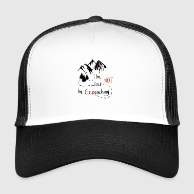 Geocaching mountains nature hiking - great gift - Trucker Cap