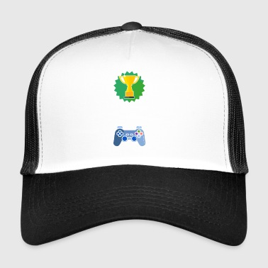 Nivå Unlocked skola gamer gaming gåva - Trucker Cap