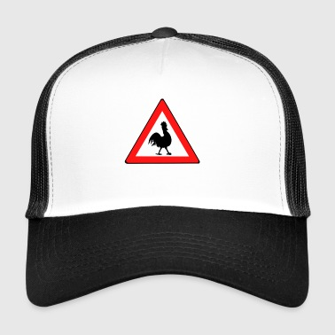 Attention cock - Trucker Cap