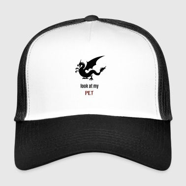 Mon animal de compagnie - dragon - Trucker Cap