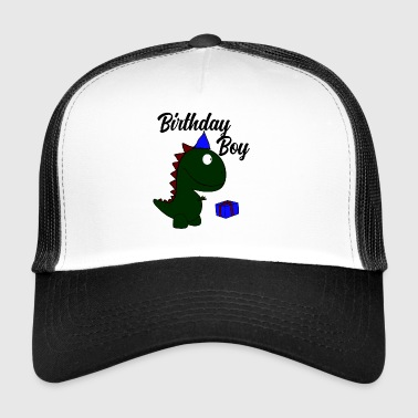 t-Rex birthday boy - Trucker Cap