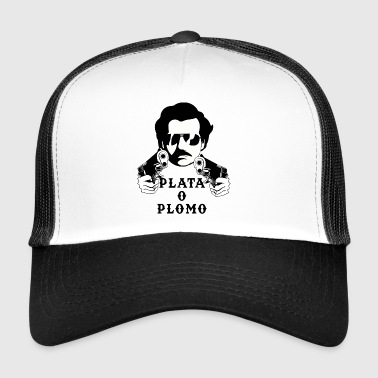 Pablo Escobar - Silver of Lead T-shirt - Trucker Cap